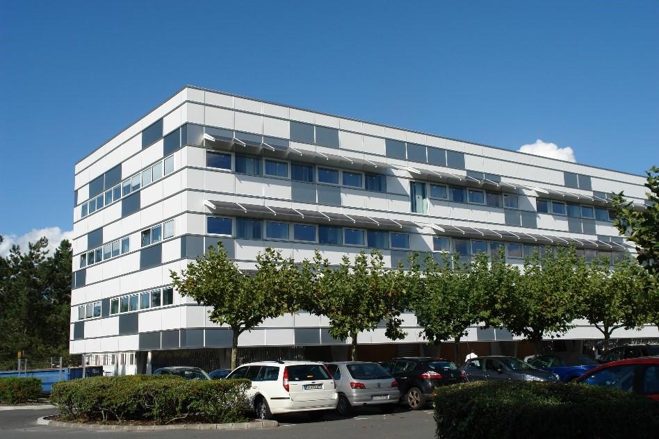 Siège de domofrance : bâtiment de bureaux neuf à énergie positive