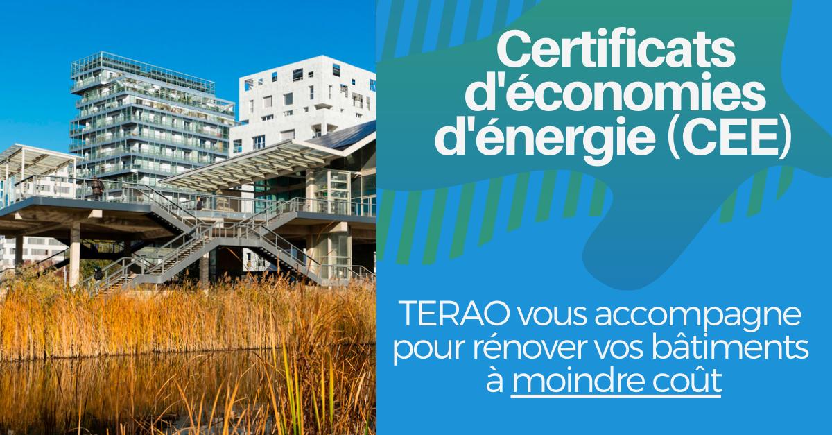 Certificats d'économies d'énergie (CEE)