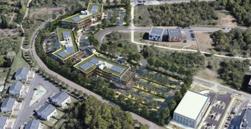 AMO Développement durable campus tertiaire